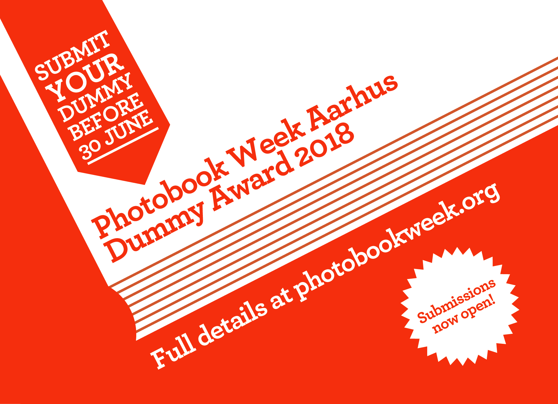 Submit your dummy to the new Photobook Week Aarhus Dummy Award!