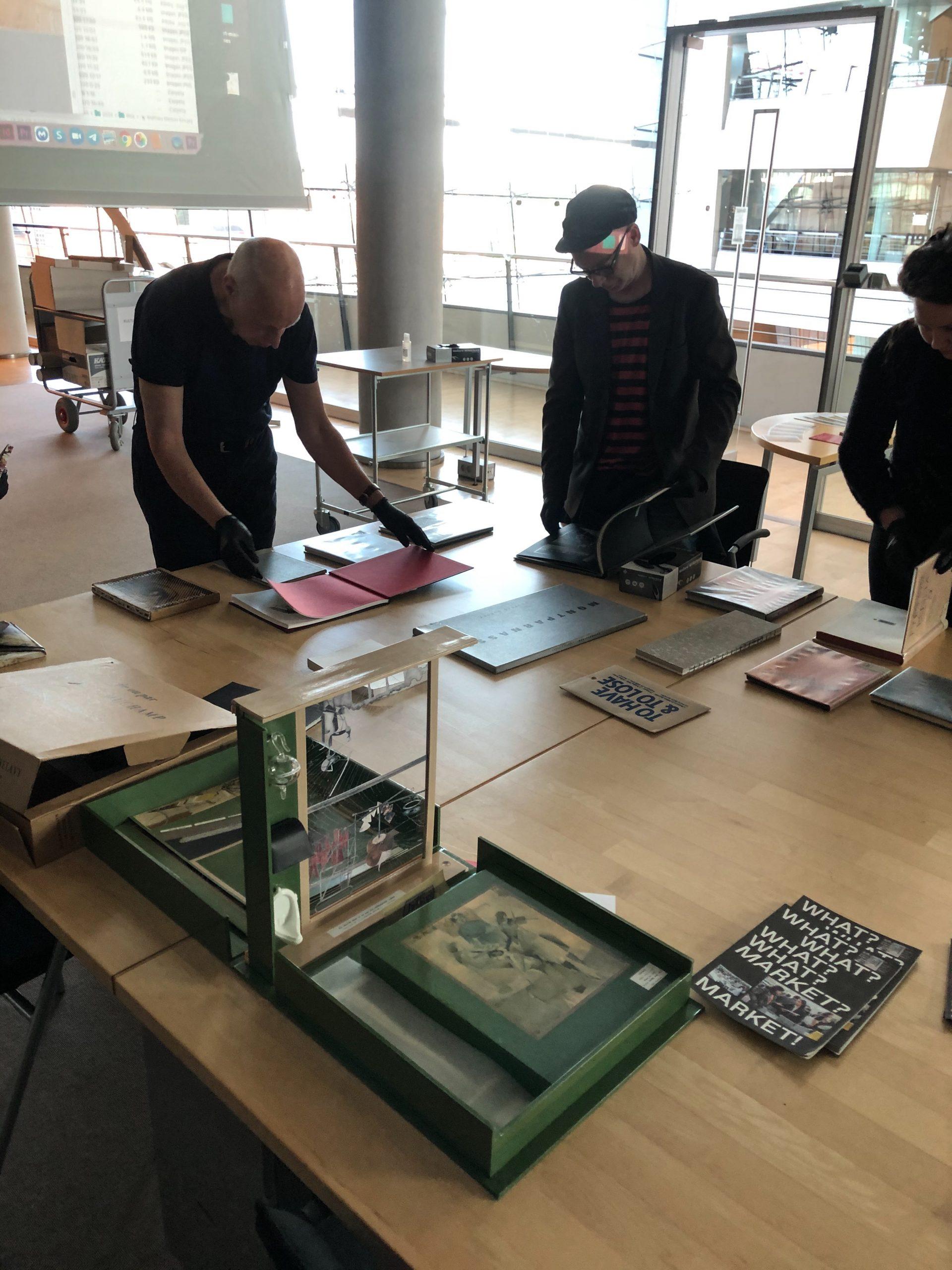 Presentation of PWA 2020 at Royal Library in CPH